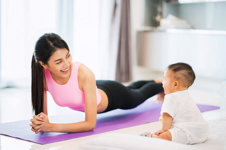 Getting Back In Shape After Birth